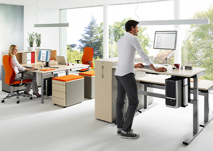 Biurko do pracy na stojąco