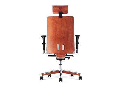 Krzesło gabinetowe brązowe