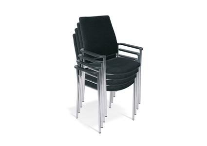 Krzesło konferencyjne szatplowane