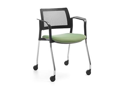 Krzesła na kółkach do sal konferencyjnych