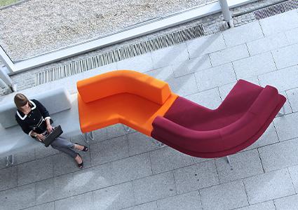 System modułowy siedzisk