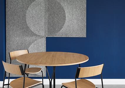 Panele akustyczne do przestrzeni biurowych