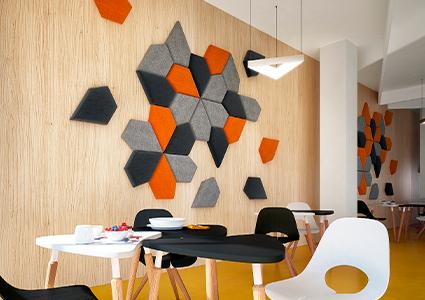 Akustyczne panele na ścianę