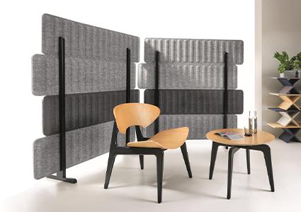 Ścianki akustyczne do przestrzeni biurowej