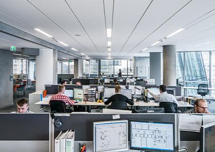 Sufity akustyczne w biurze