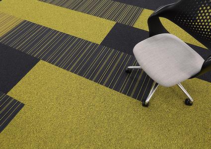 Płytki dywanowe w biurze