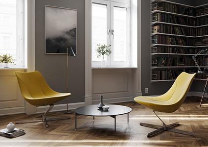 Fotele wypoczynkowe do pomieszczeń biurowych