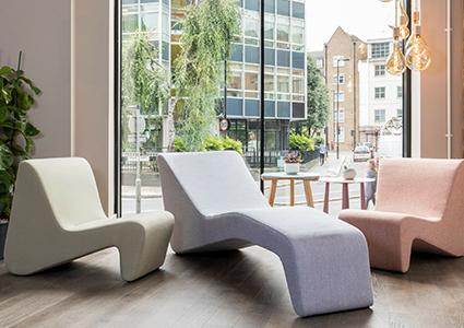 Fotele wypoczynkowe do biura