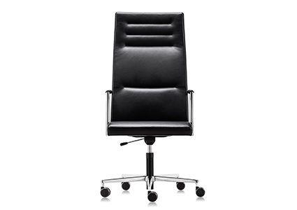 Skórzane krzesło gabinetowe