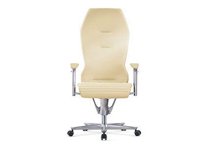Krzesło gabinetowe kremowe