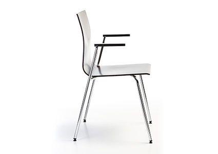 Krzesło konferencyjne z podłokietnikiem