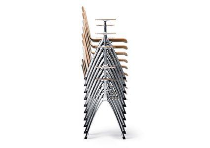 Krzesła konferencyjne szatplowane