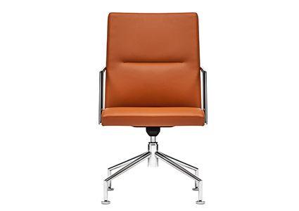 Krzesło konferencyjne brązowe