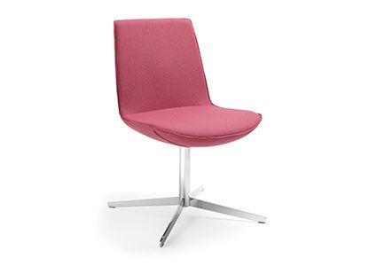 Krzesło konferencyjne bez oparć