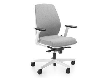 Krzesło pracowniczne z podłokietnikami