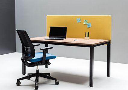 Wygłuszające panele biurkowe