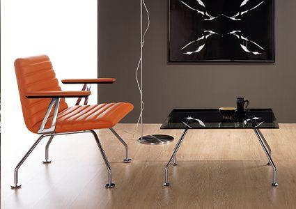 Fotele wypoczynkowe do pomieszczeń socjalnych