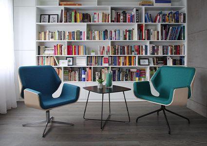 Fotele wypoczynkowe do pomieszczenia socjalnego