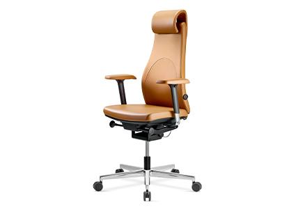 Krzesło gabinetowe z zagłówkiem