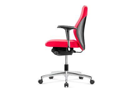 Profilowane krzesło pracownicze