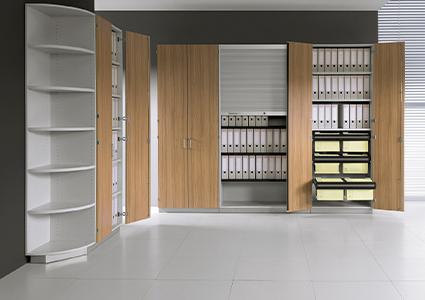 Eleganckie szafy na segregatory