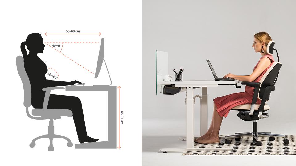 Odpowiednie ustawienie krzesła dopracy