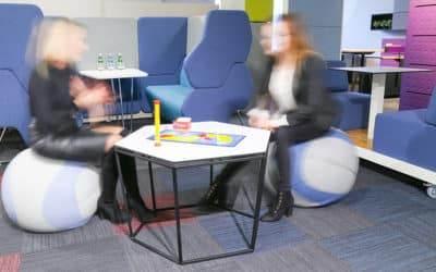 Strefa chilloutu w miejscu pracy