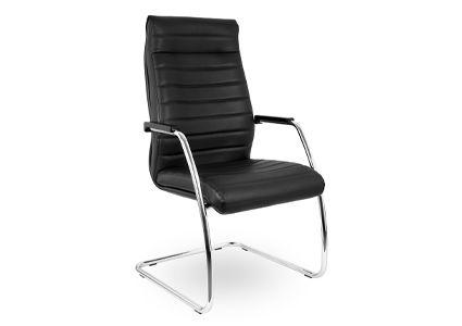 Skórzane krzesło konferencyjne
