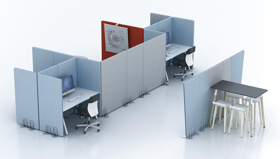 strefy w biurze